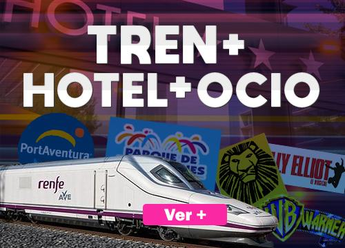 Tren + Hotel + Ocio
